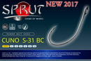 SPRUT Single Power Bait Hook CUNO S-31 BC