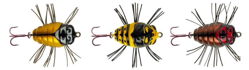 Необычные жуки для ловли голавля и форели - NOTOBUG