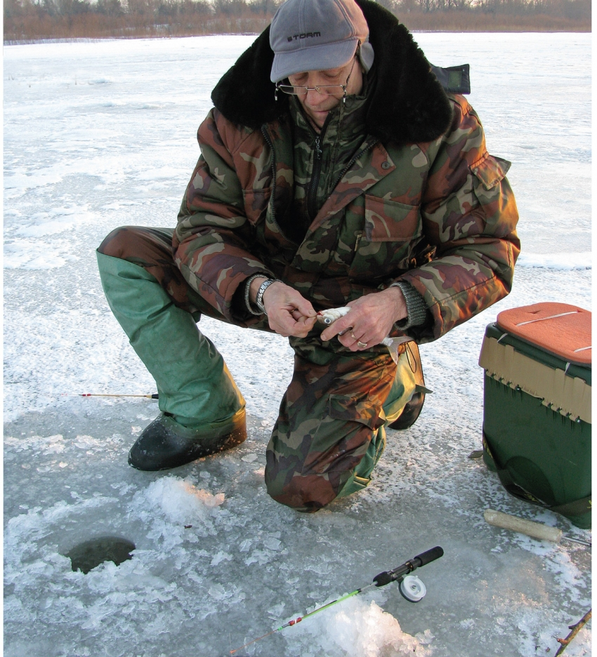 нижегородские рыболовы