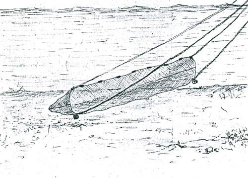 как сделать сплавную сеть для рыбалки