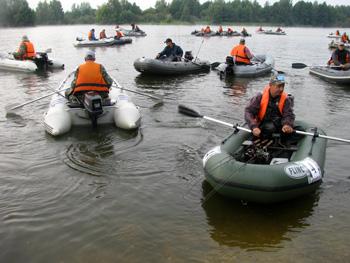 рыбная ловля с лодок в нижегородской области
