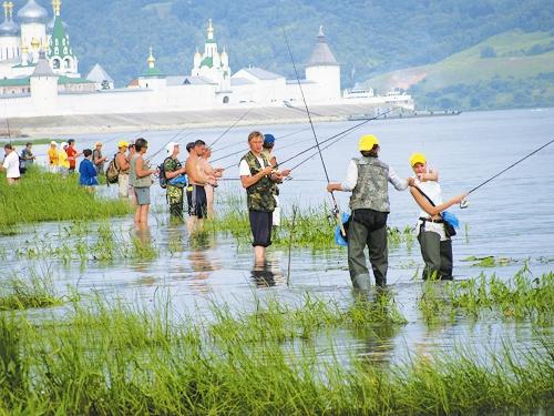 рыбалка в дивеевском районе