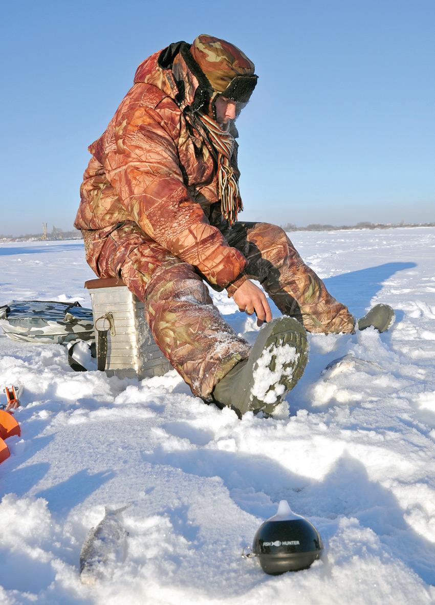 FishHunter Pro зимой. Владислав Андрианов