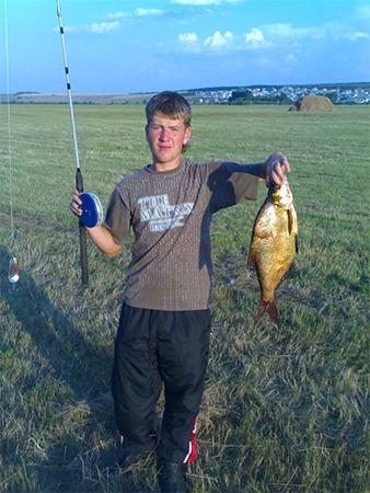 рыбалка в краснобаковском районе