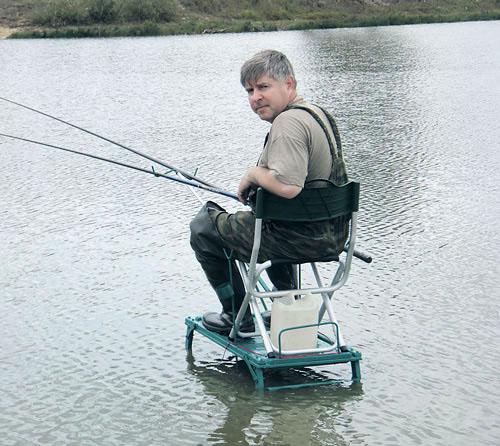 Мосток для рыбалки своими руками фото 795